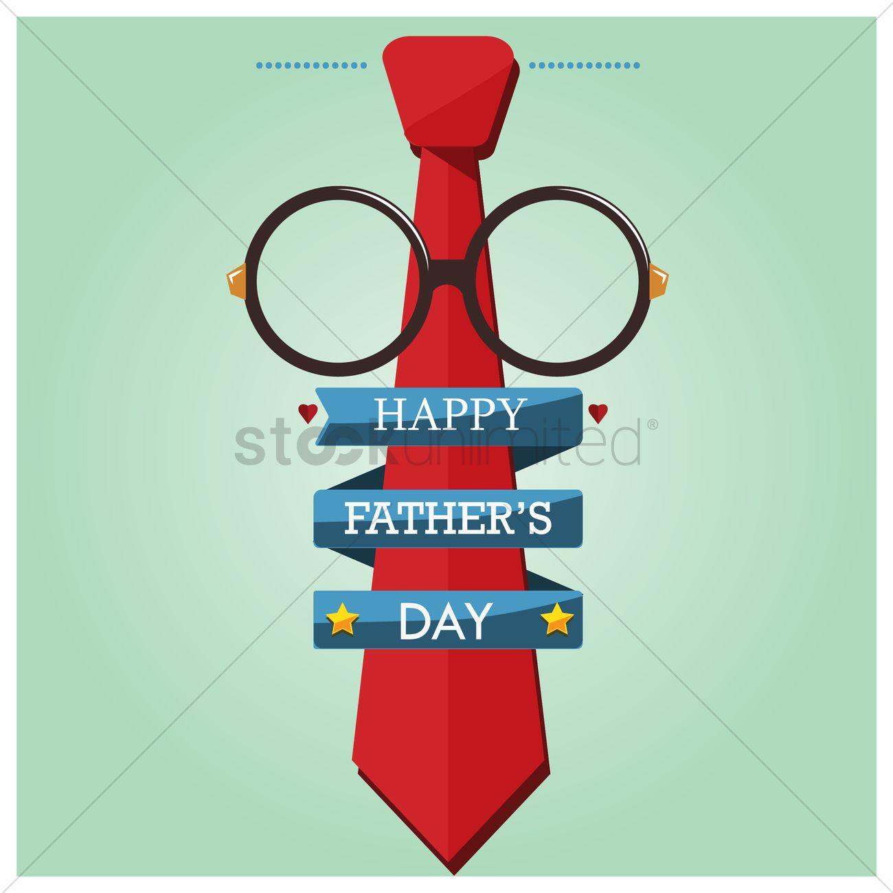 Happy fathers day wallpaper Vector Image   1585477 StockUnlimited 1300x1300