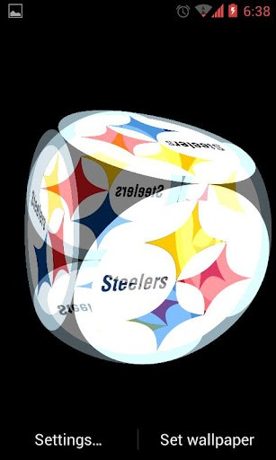 Incredible live wallpaper of Steelers the american football team of 307x512