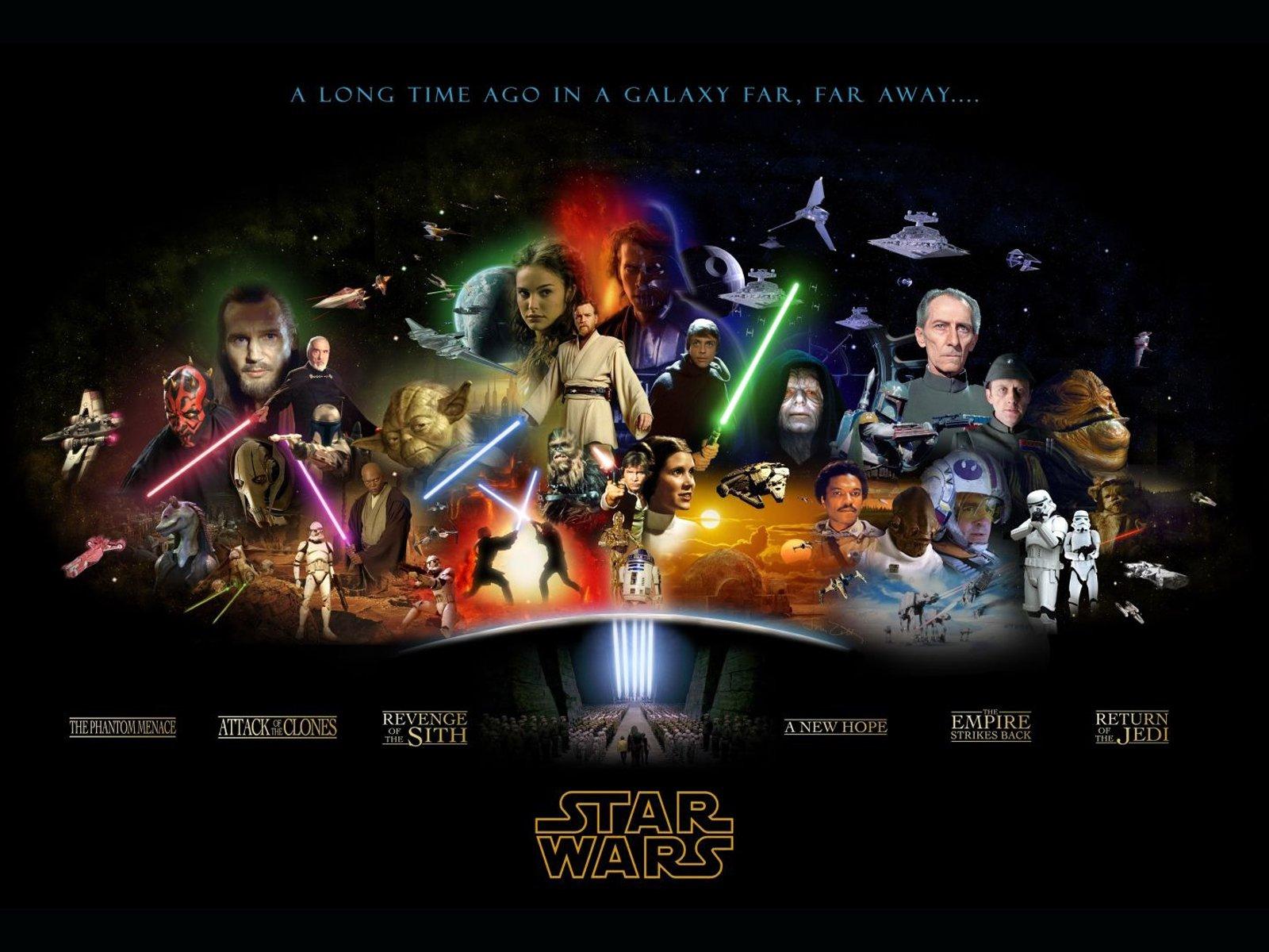 Free Star Wars Day computer desktop wallpaper