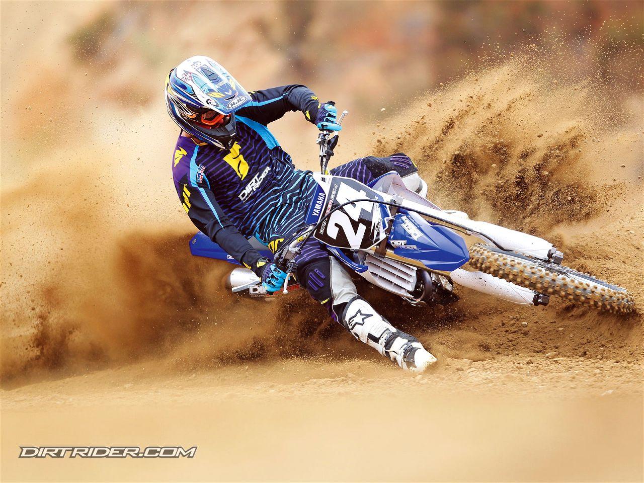High Resolution Motocross Yamaha Dirt Bike Wallpaper HD 2 Motorcycle 1280x960