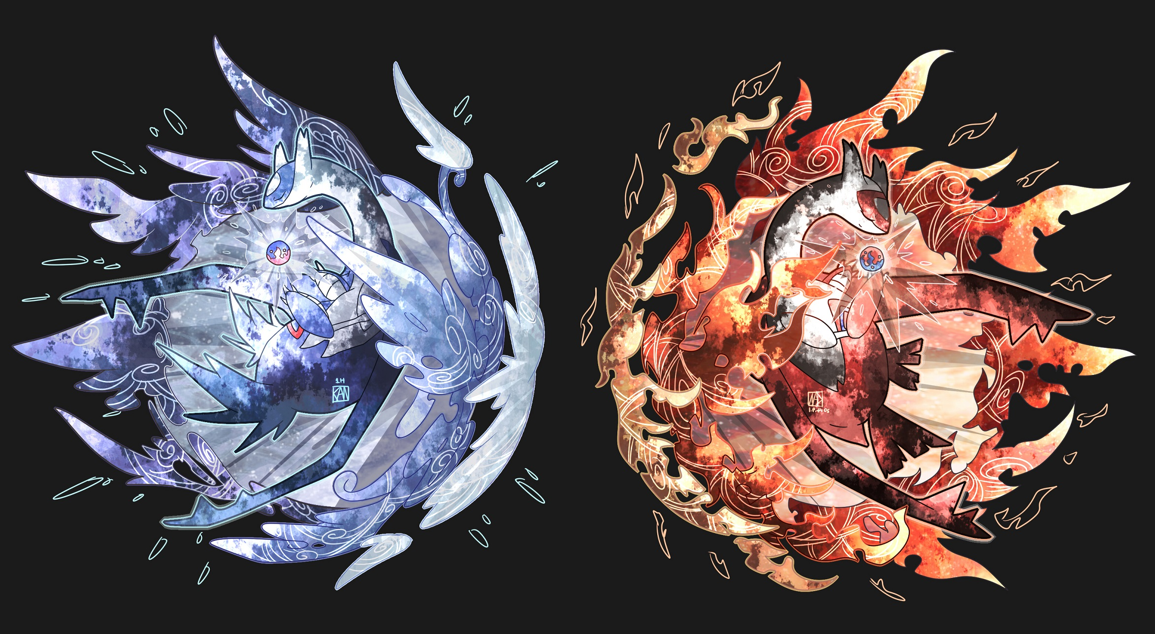 Eon Duo   Pokmon   Zerochan Anime Image Board 2346x1287