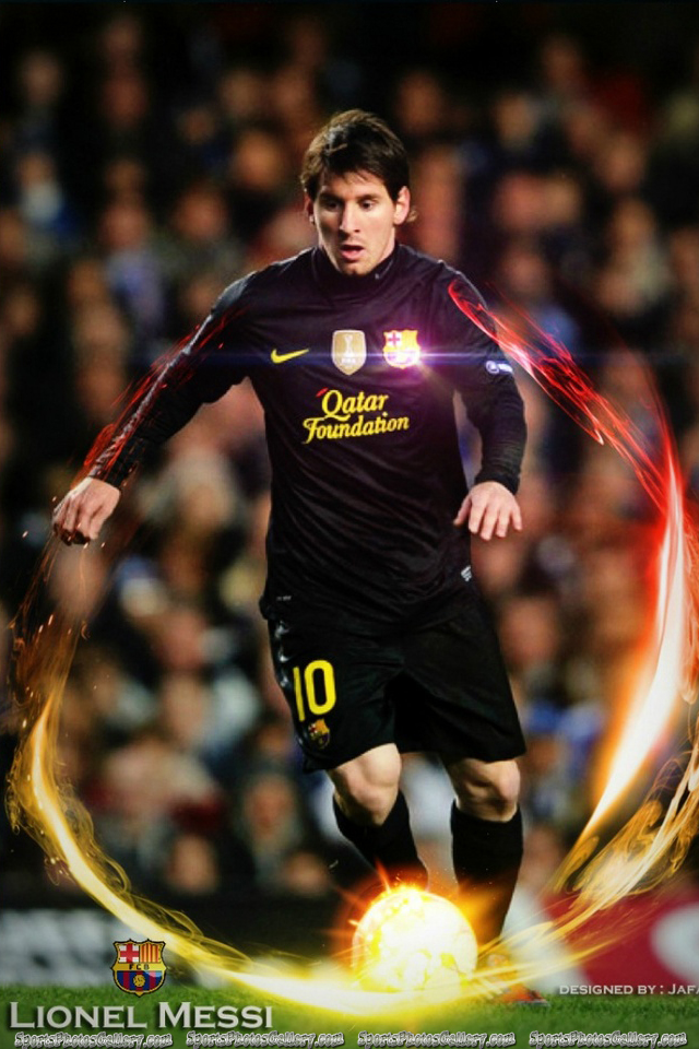 Lionel Messi Barcelona iPhone Wallpaper Sports Gallery iPhone 640x960