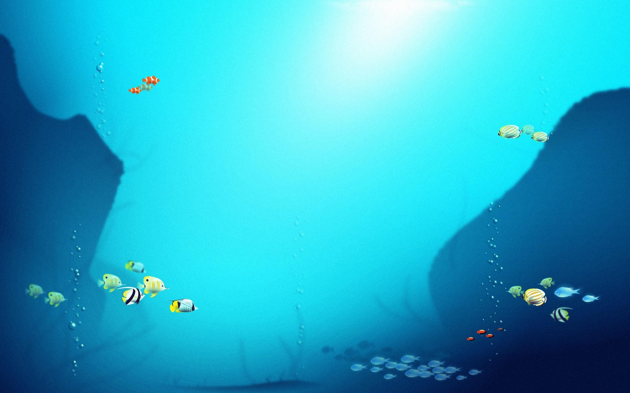 Fish Background - WallpaperSafari