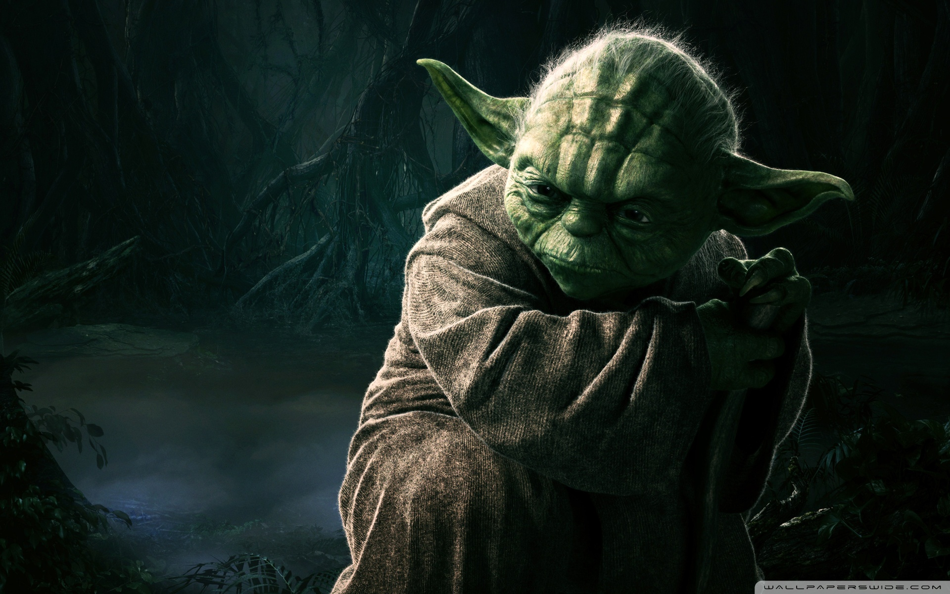 Cool Star Wars Yoda Wallpapers The Art Mad Wallpapers 1920x1200