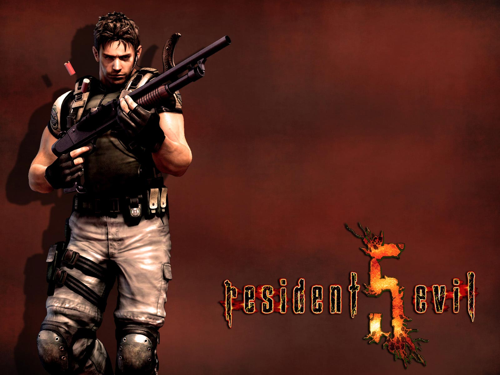 Free Download Games Wallpapers Chris Redfield Resident Evil 5