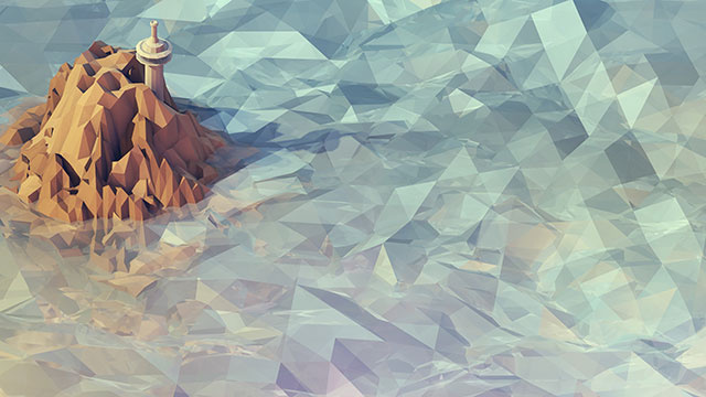 Desktop with These Polygon Art Wallpapers The New Peoples Almanac 640x360