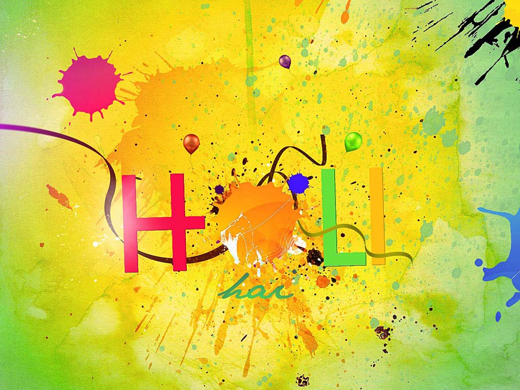Holi 2015 Wishes Wallpapers Images Download 1024x768