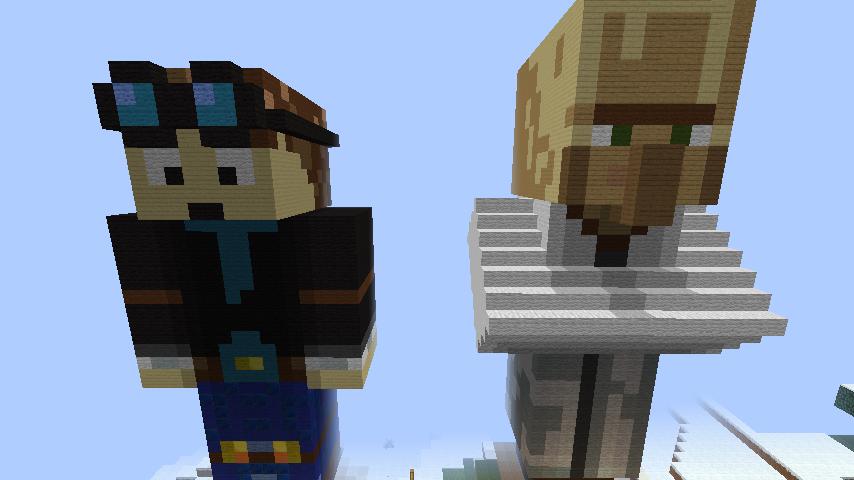 Dantdm Fan Art Minecraft pixel art dantdm by 854x480