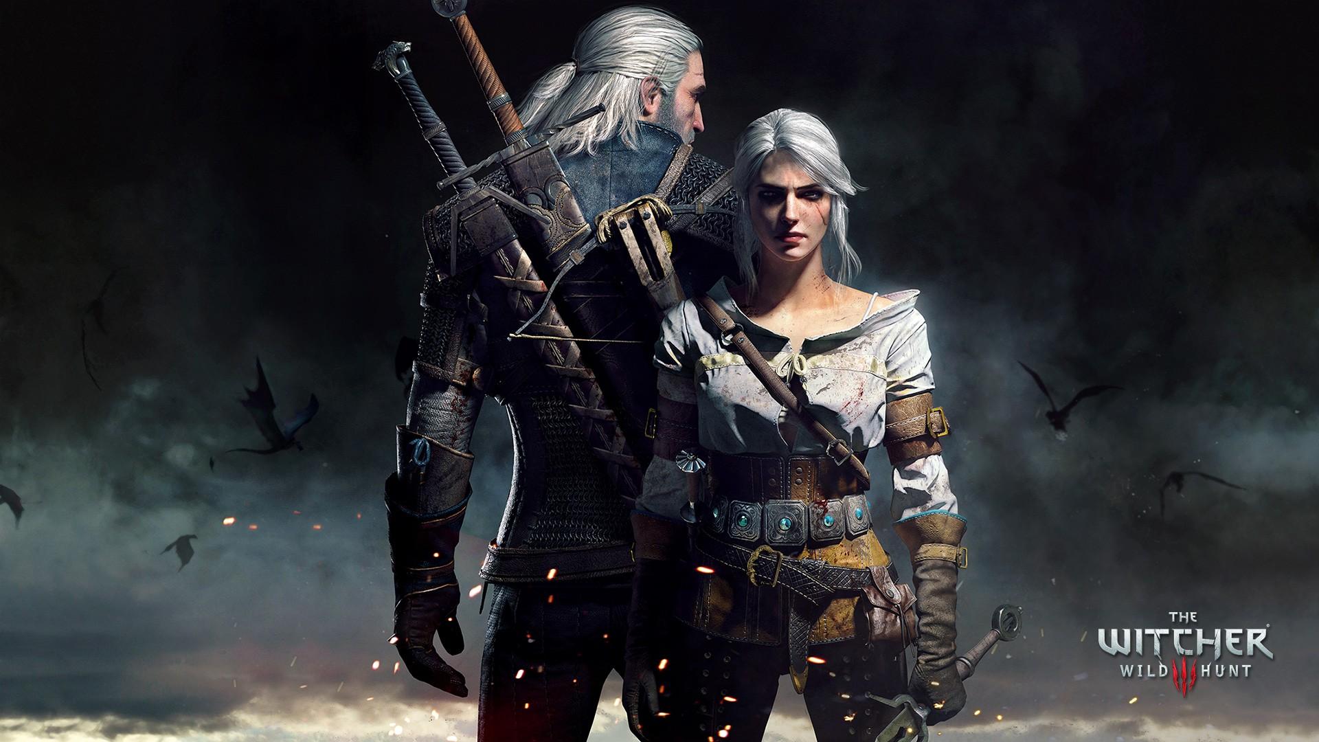 Geralt and Ciri HD Wallpaper Background Image 1920x1080 ID 1920x1080