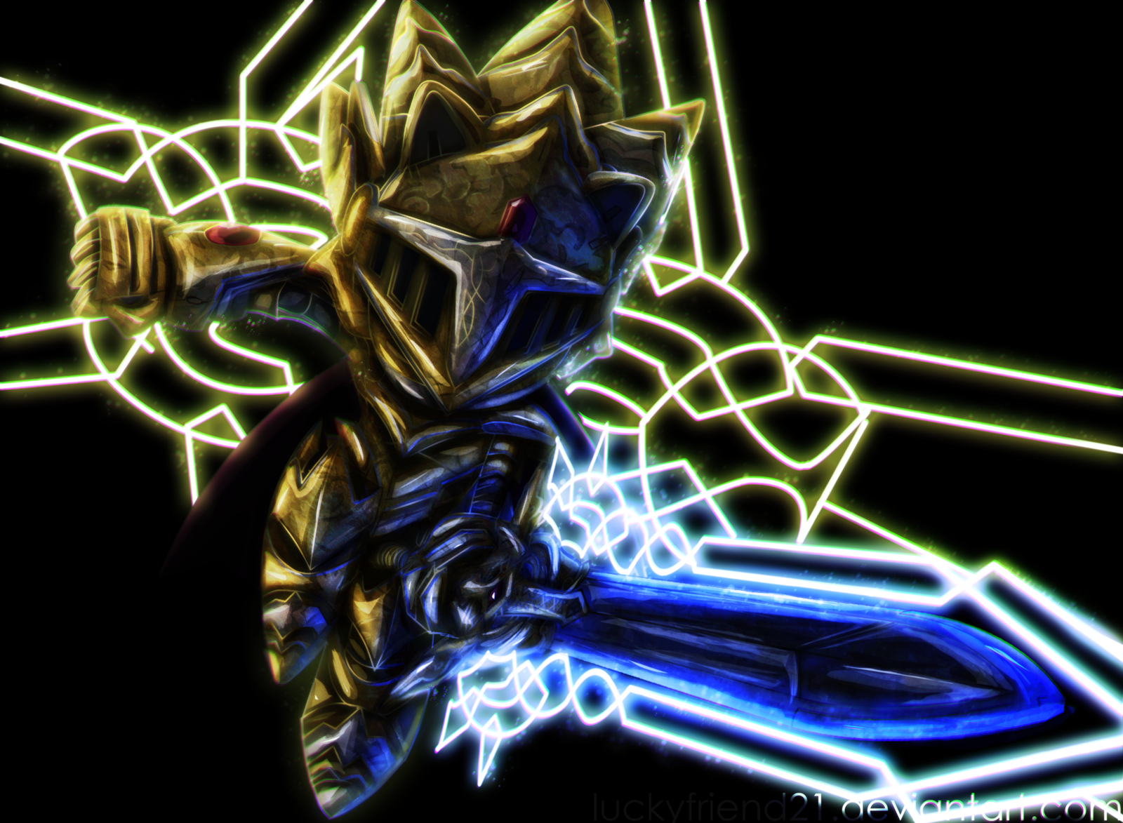 Excalibur Sonic The Hedgehog