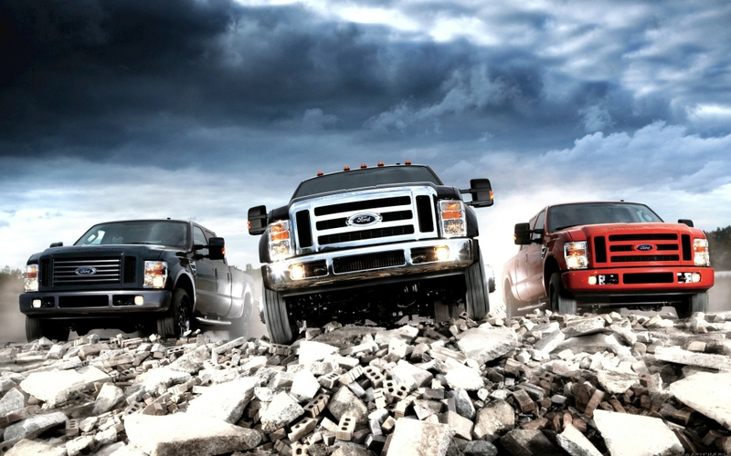 Cool Ford Trucks Wallpaper Ford trucks vehicles 1920x1200 800x500