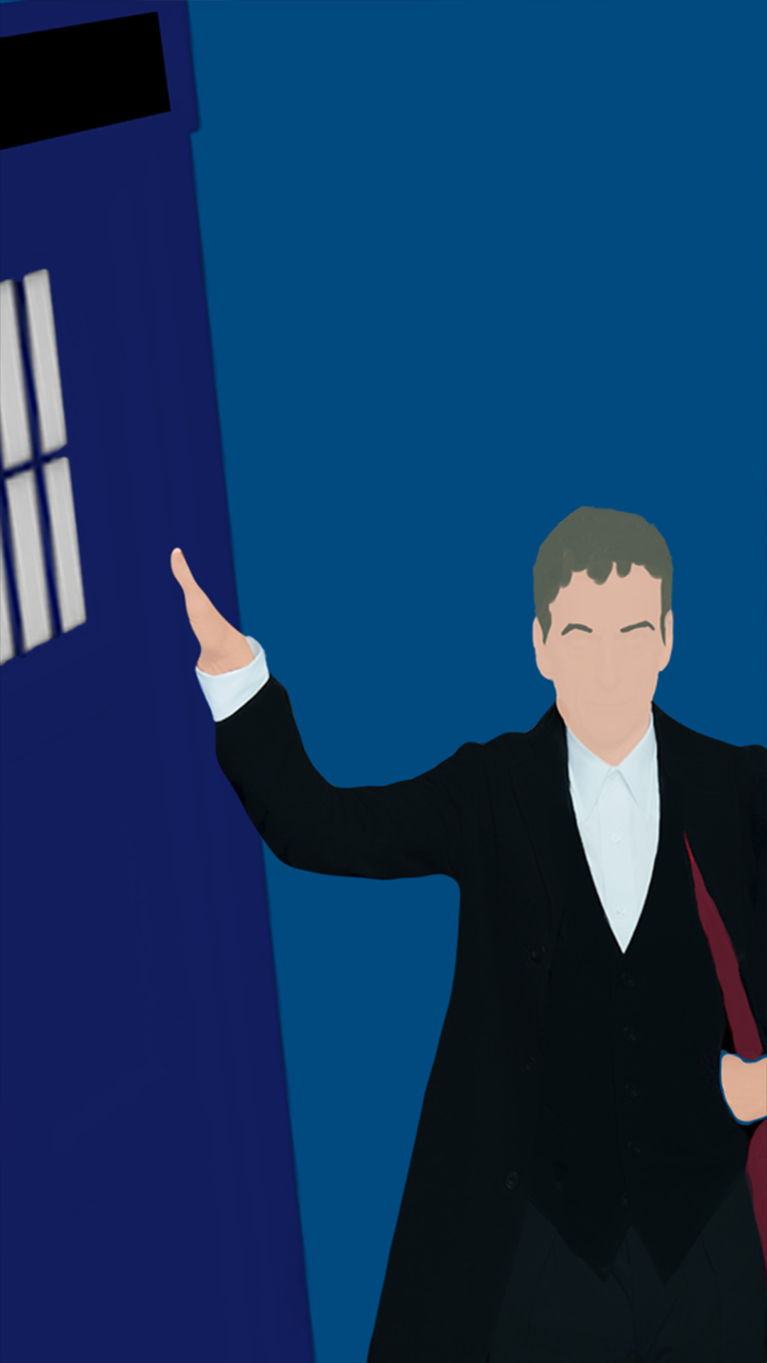 these minimalistic Season 8 Doctor Who wallpapers yBaX START 1080x1920