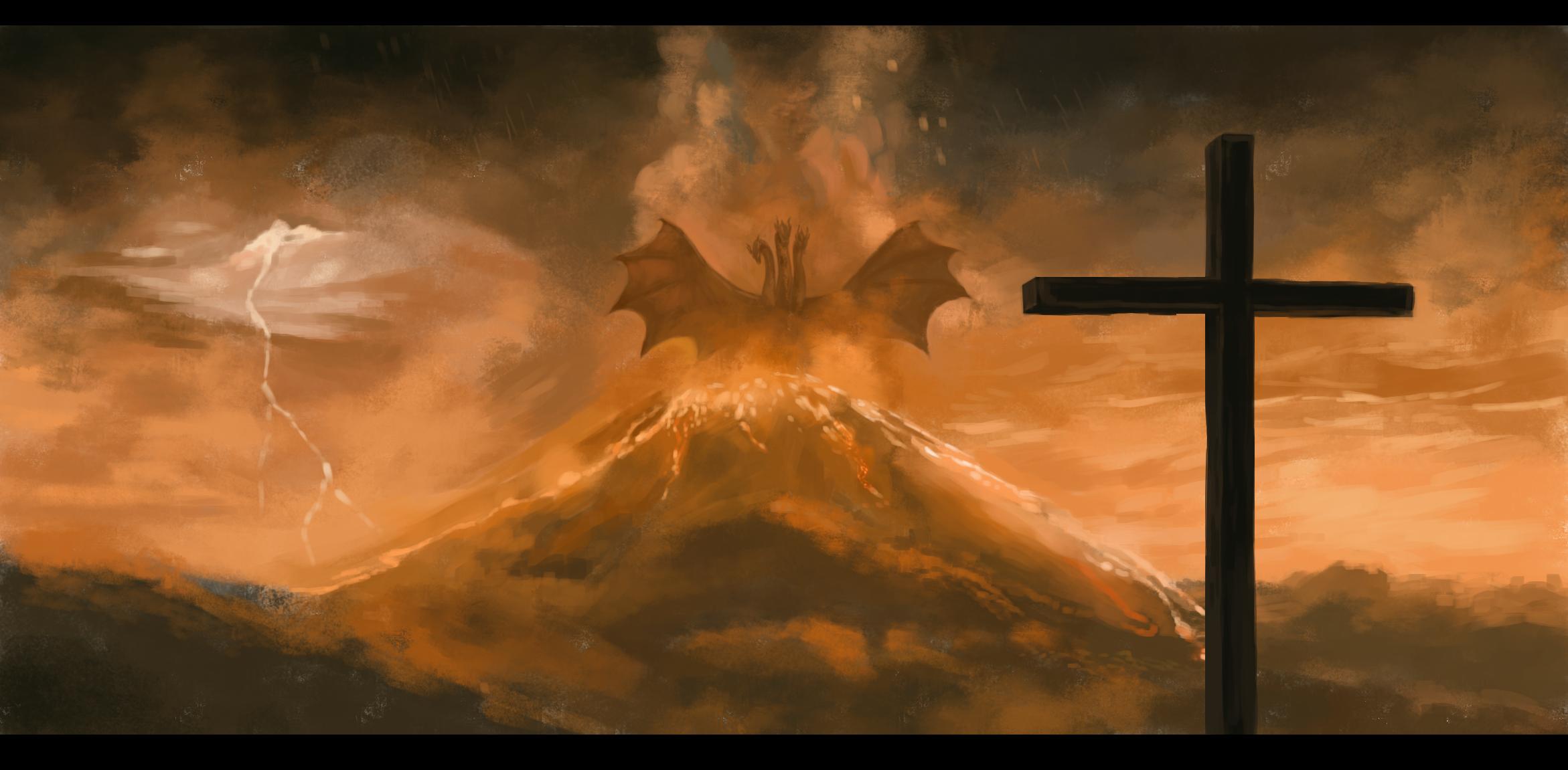 King Ghidorah   Godzilla Series   Zerochan Anime Image Board 2342x1151