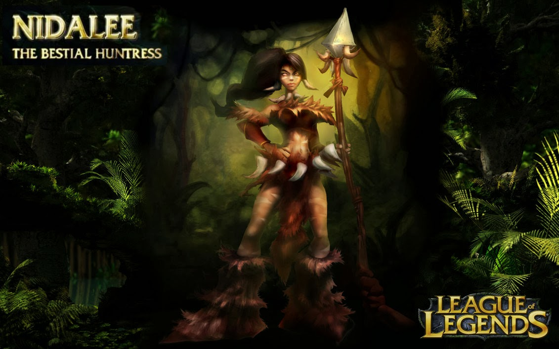 Nidalee League of Legends Wallpaper Nidalee Desktop Wallpaper 1131x707