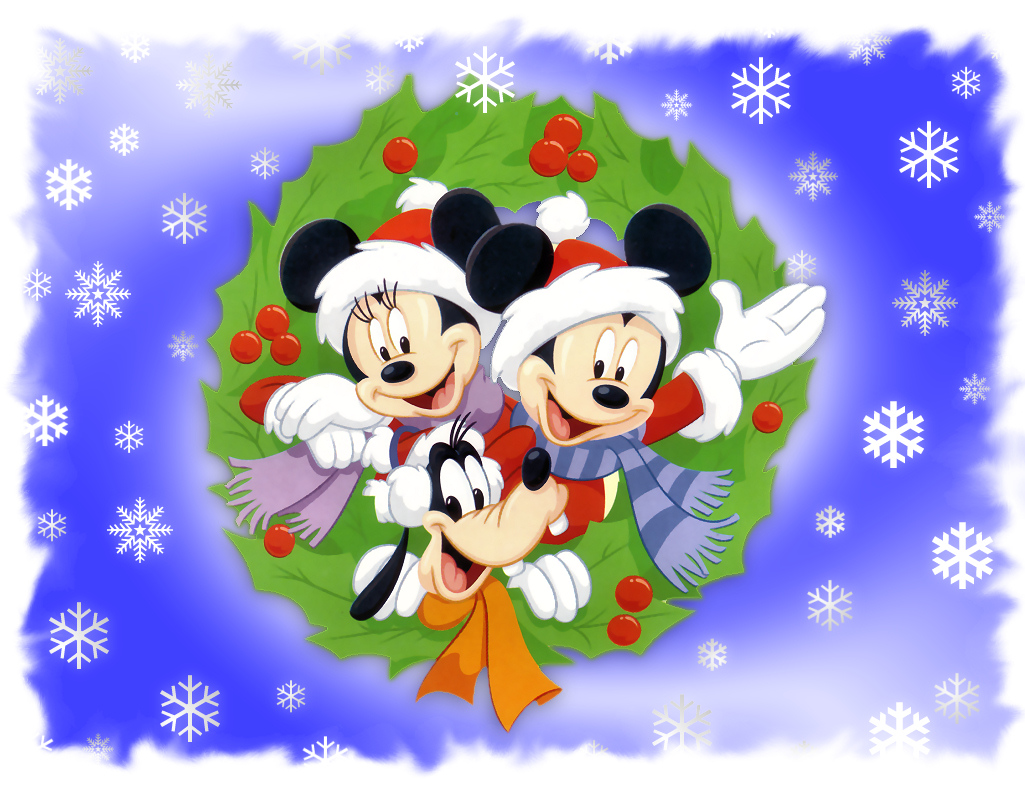 Disney Christmas Wallpapers [1024x768] 1025x785