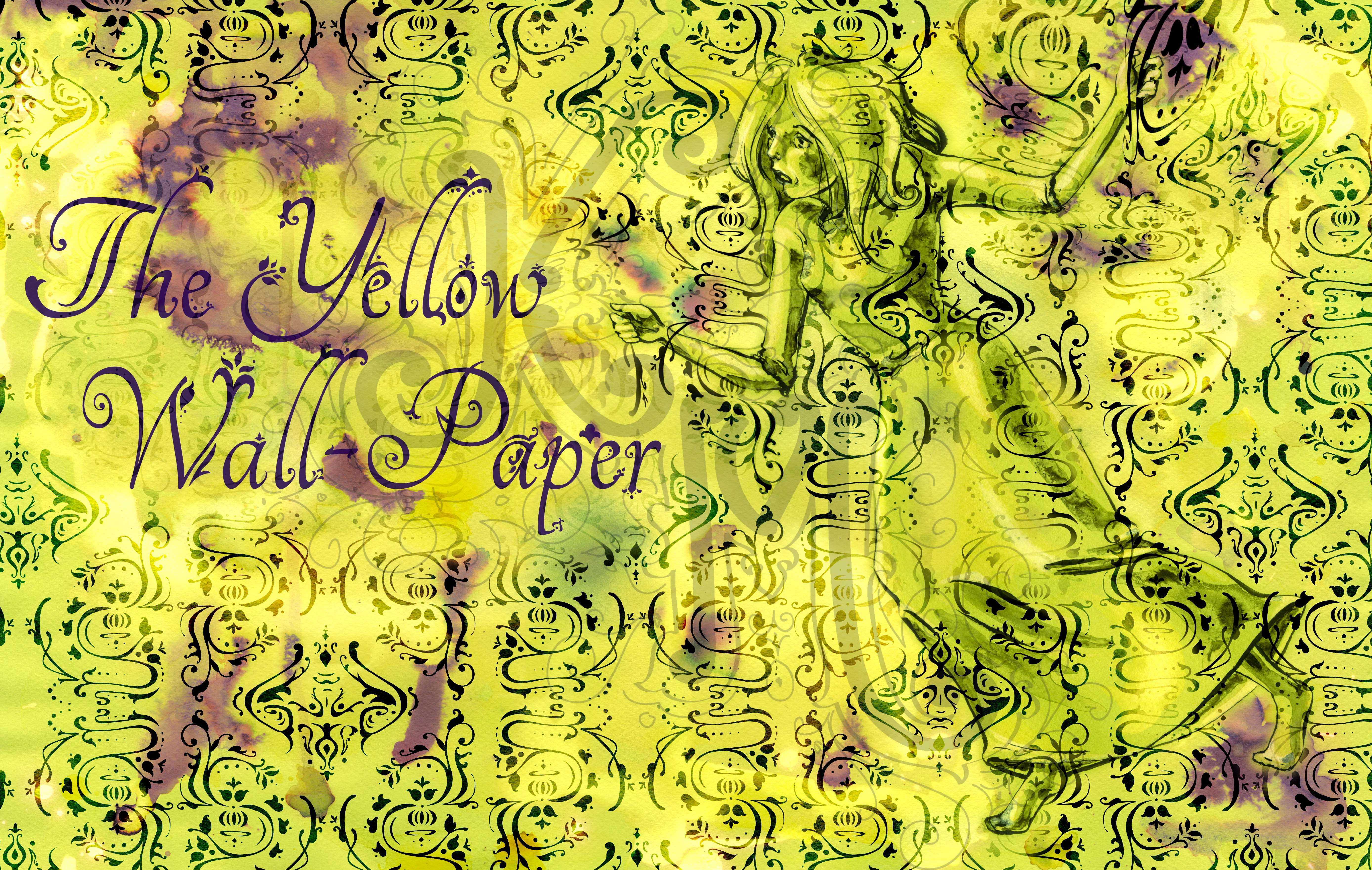 Yellow Wallpaper Book The Wall Paper 5552x3524