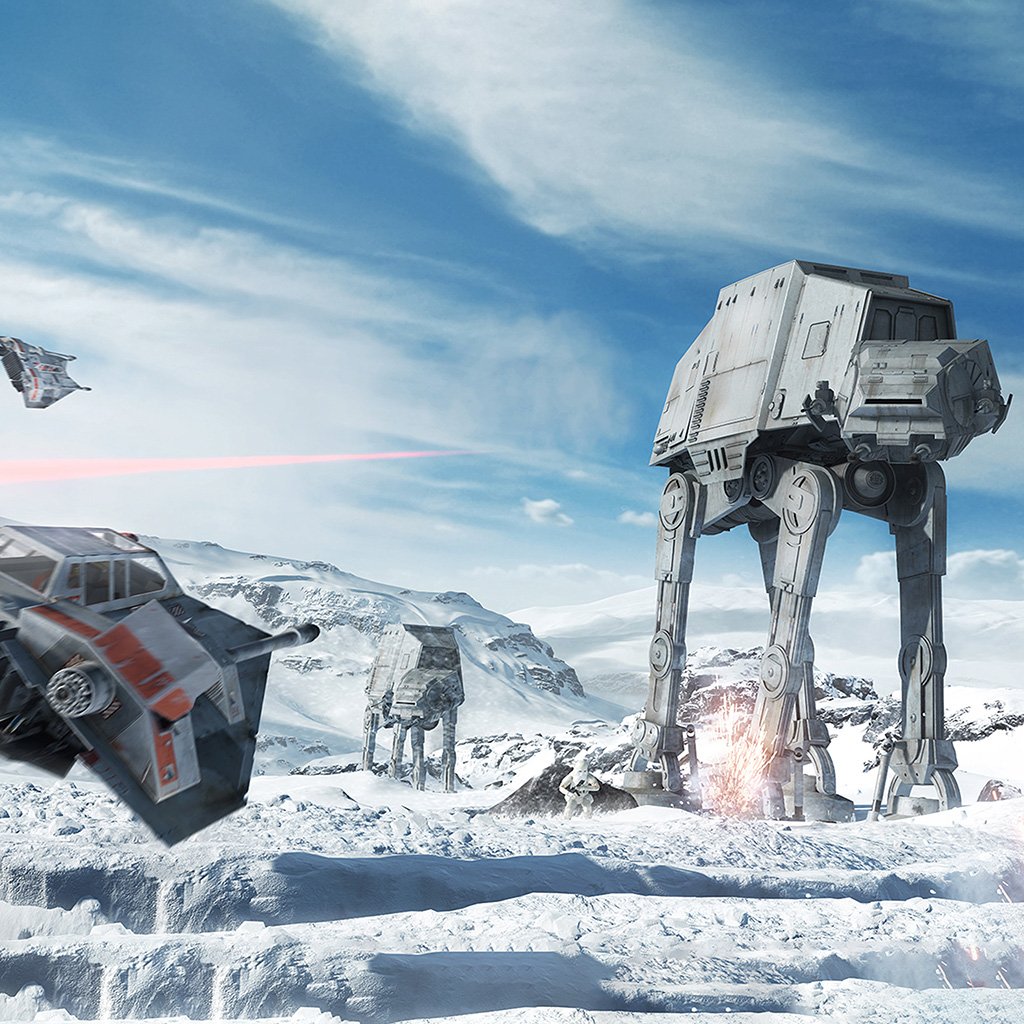 Star Wars Battlefront 4k Hd Ipad 2 wallpapers Tablet wallpapers and 1024x1024
