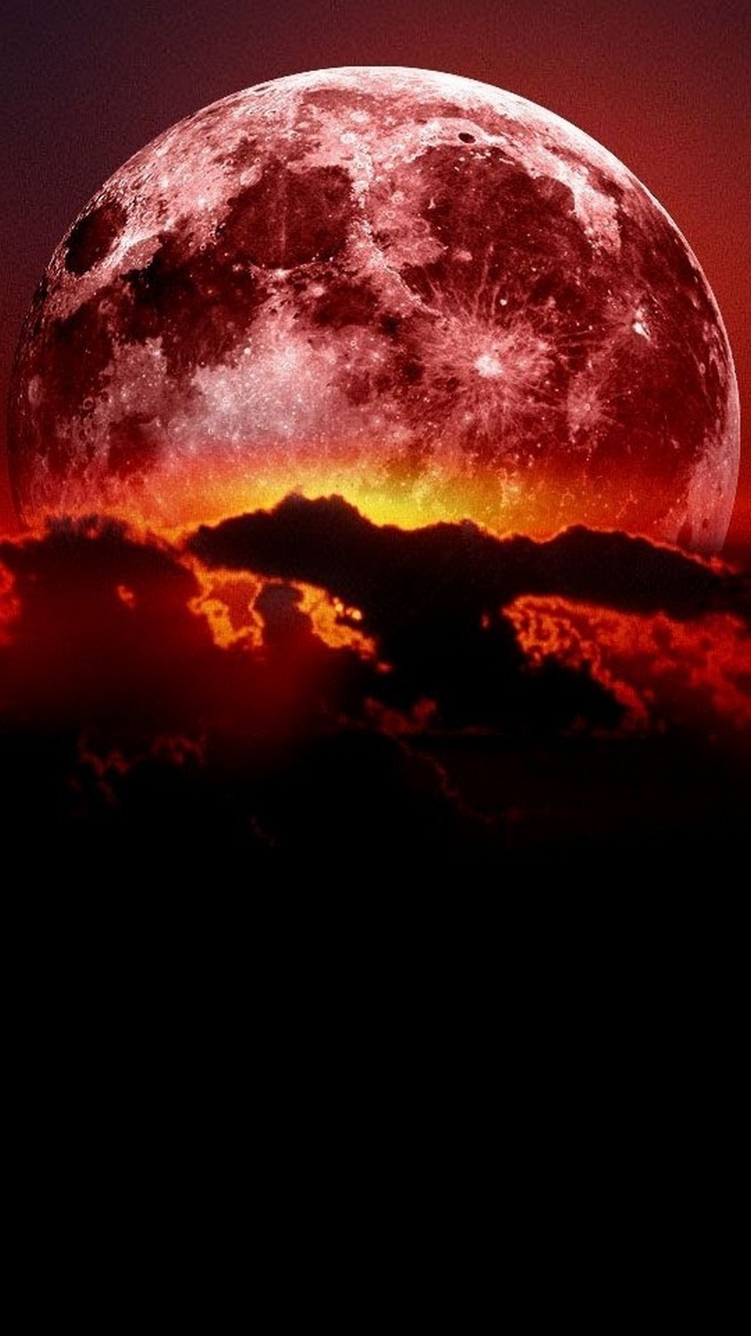 Super Blood Moon Wallpaper Android   2020 Android Wallpapers 1080x1920