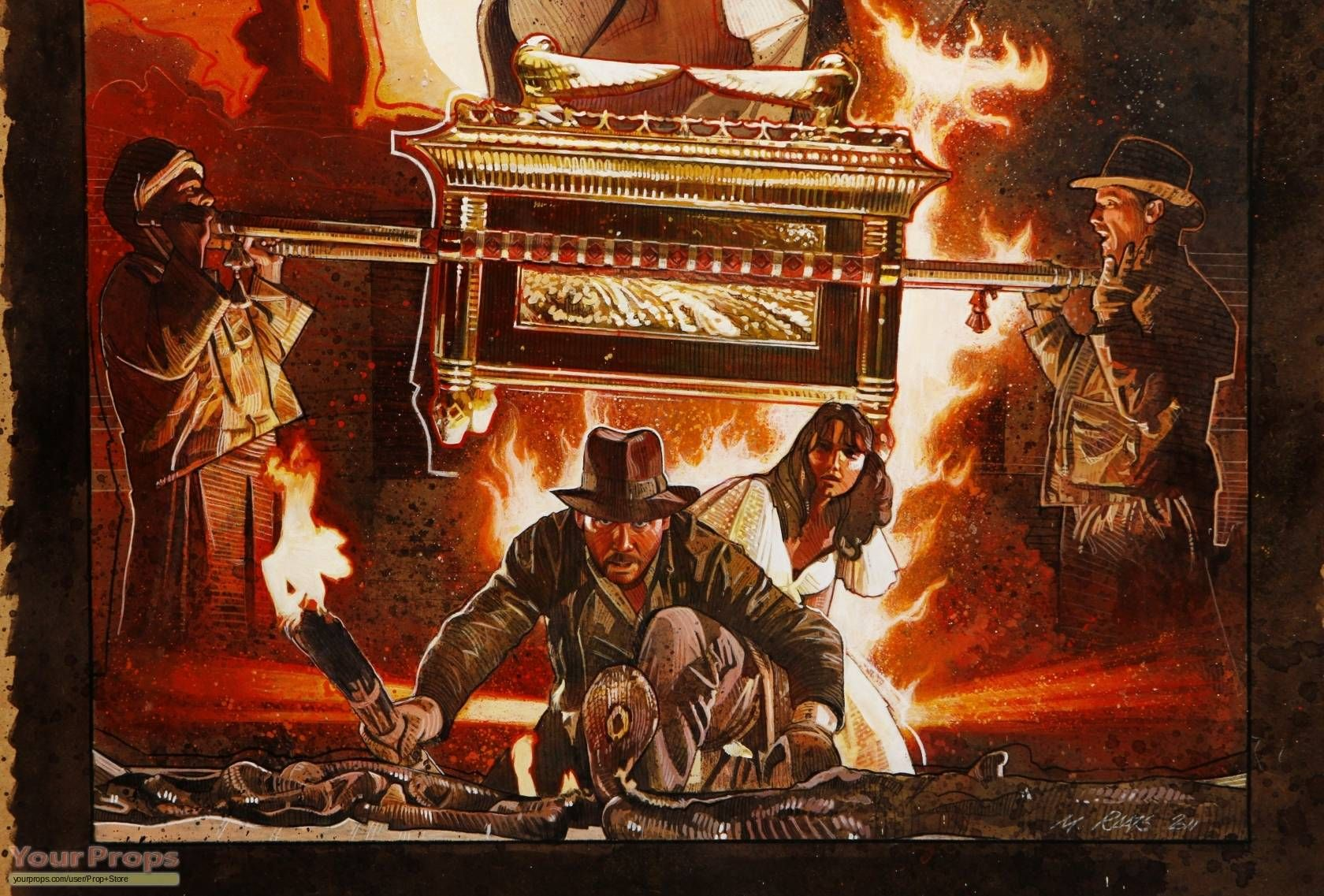 Raiders of the Lost Ark Wallpaper 2   Indiana Jones Wallpaper 1680x1137