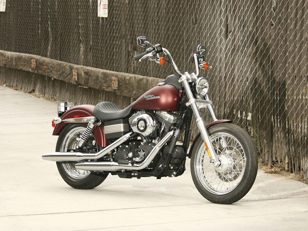 Harley Davidson FXDB Dyna Street Bob 1024 x 768 wallpaper 1024x768