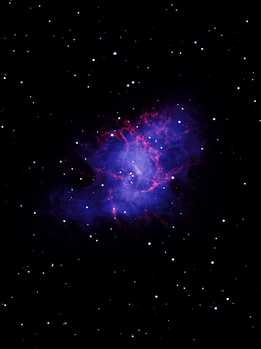 Crab Nebula Wallpaper 375x500