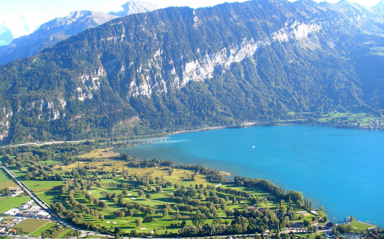 Images Interlaken SWITZERLAND Nature Mountains 1440x900 1440x900