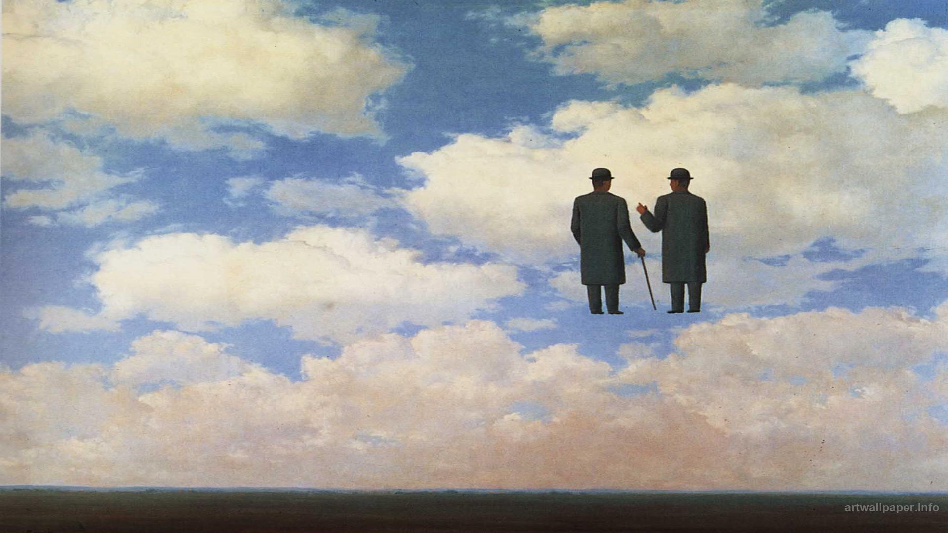 Rene Magritte Wallpaper Art Print Painting Wallpapers 1920x1080