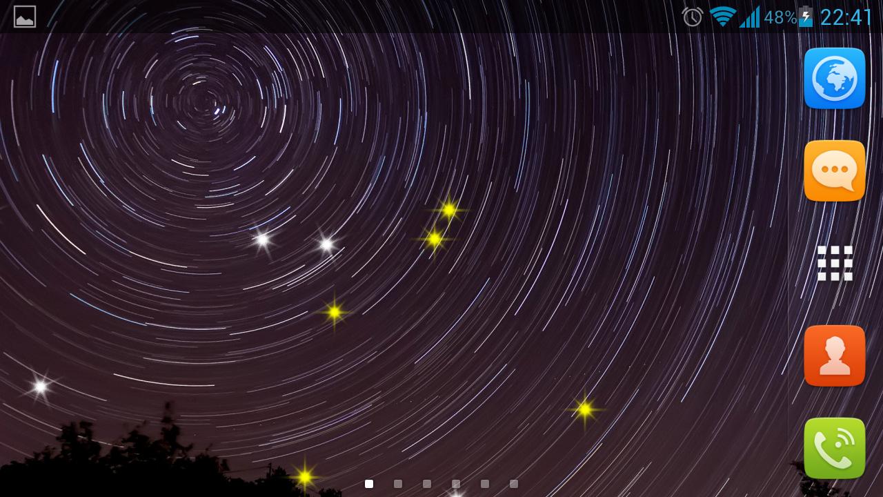 50+] Night Sky Live Wallpaper on WallpaperSafari