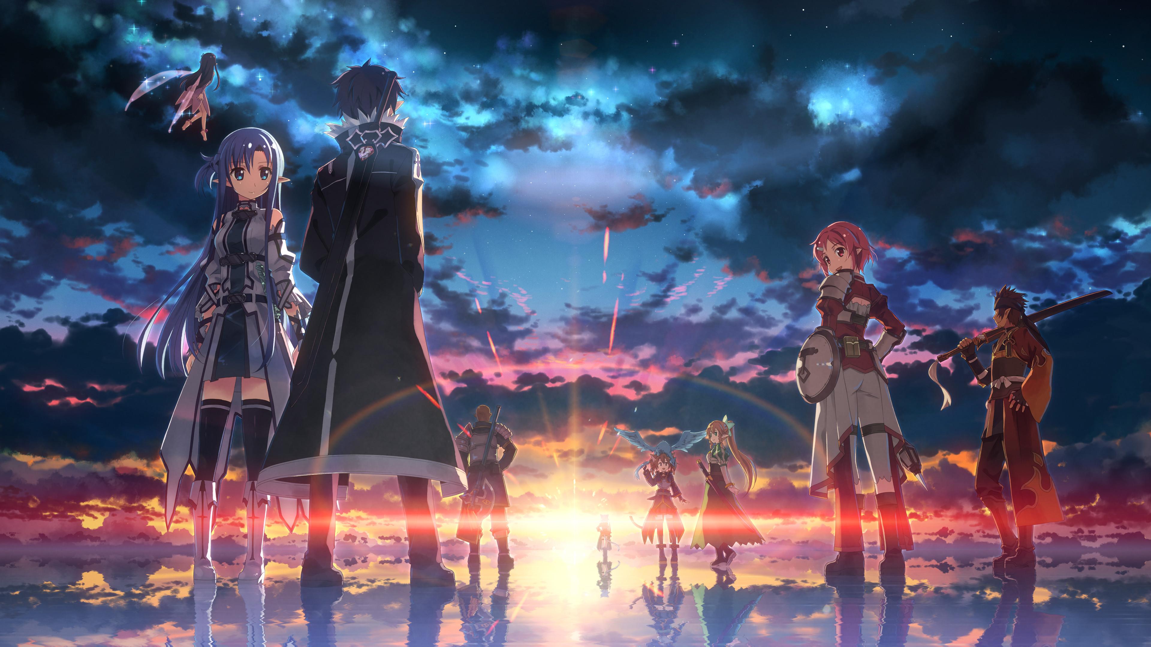 4k Wallpaper Anime Background   HD Wallpaper For Desktop 3840x2160