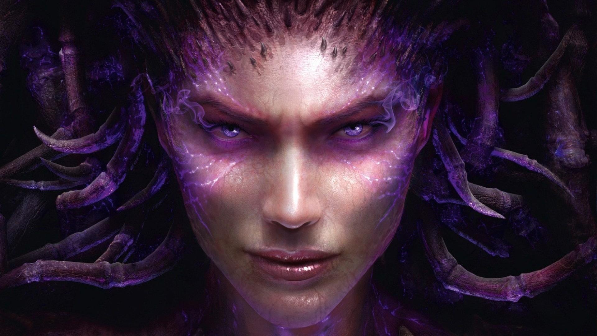 Heart of Swarm Sarah Kerrigan Queen Of Blades Starcraft Star Craft 1920x1080