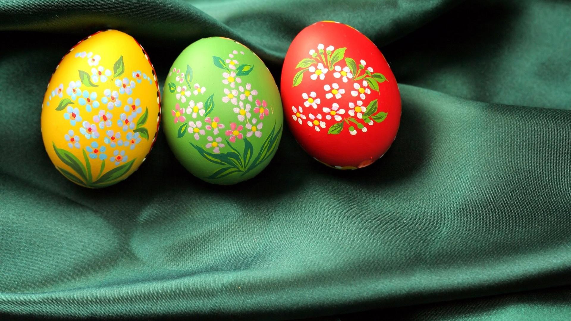 Easter egg artistic Wallpaper 1920x1080 Full HD 1920x1080