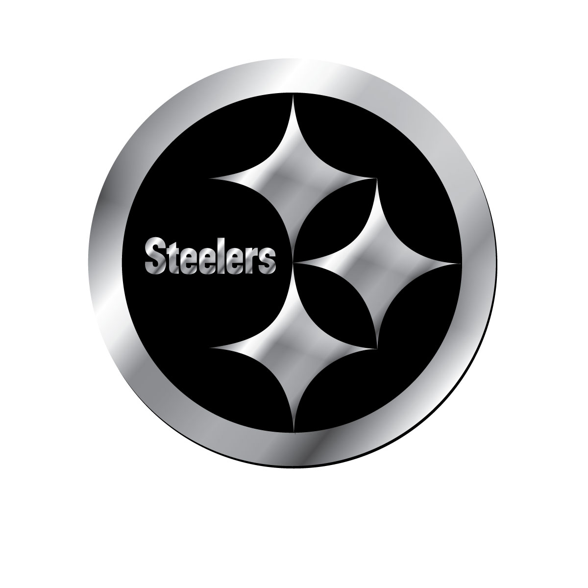 Wallpaper Steelers steel logo 1200x1200
