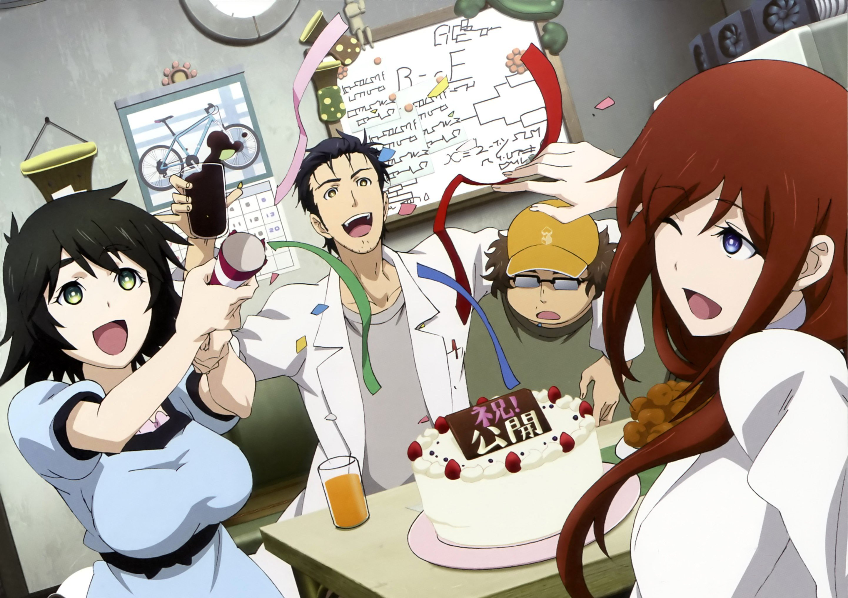 HAPPY NEW YEAR 2020 steinsgate 2884x2033
