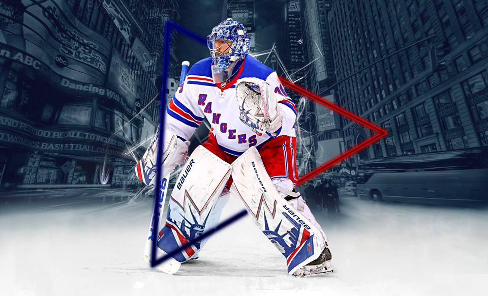 Henrik Lundqvist Wallpaper rangers   NHL Hockey Goalies Facebook 960x582