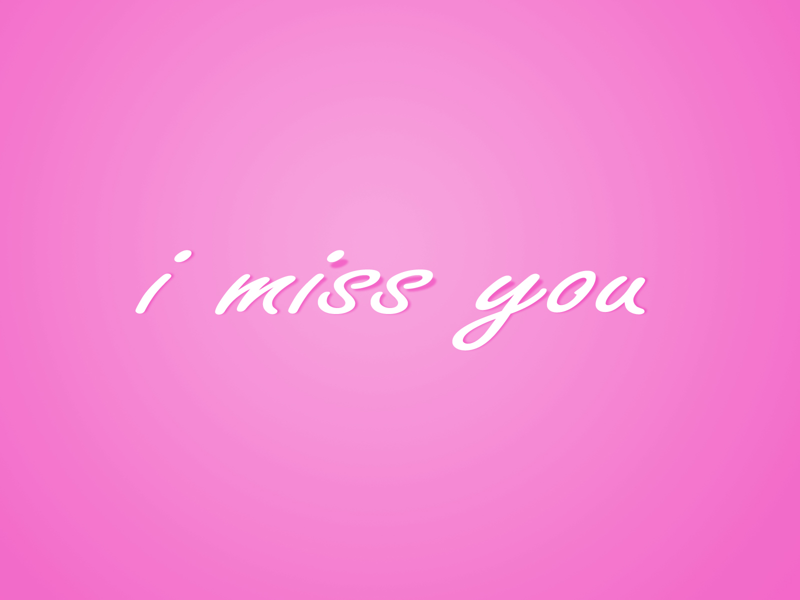 Simple I Miss You Text HD Wallpapers Download Wallpapers in HD 1600x1200