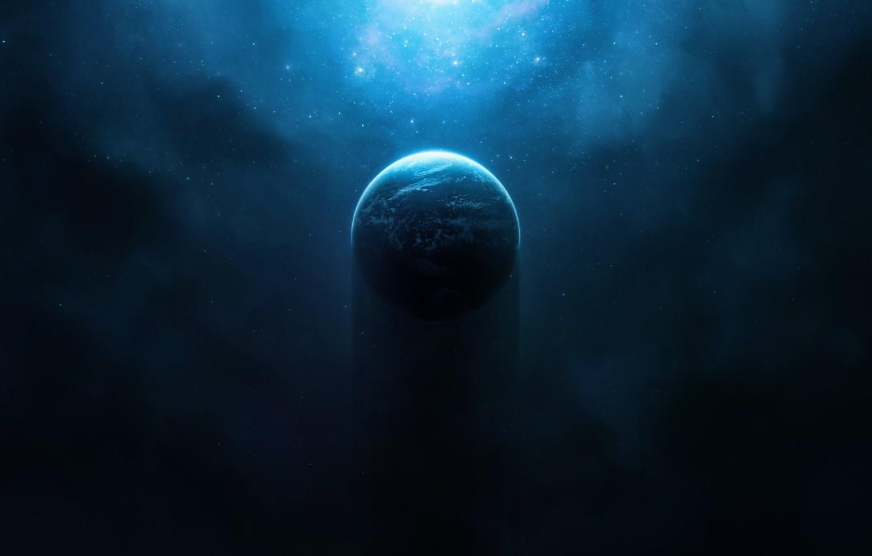 Wallpaper Stars Halo Space Planet Concept Art Destiny 1332x850