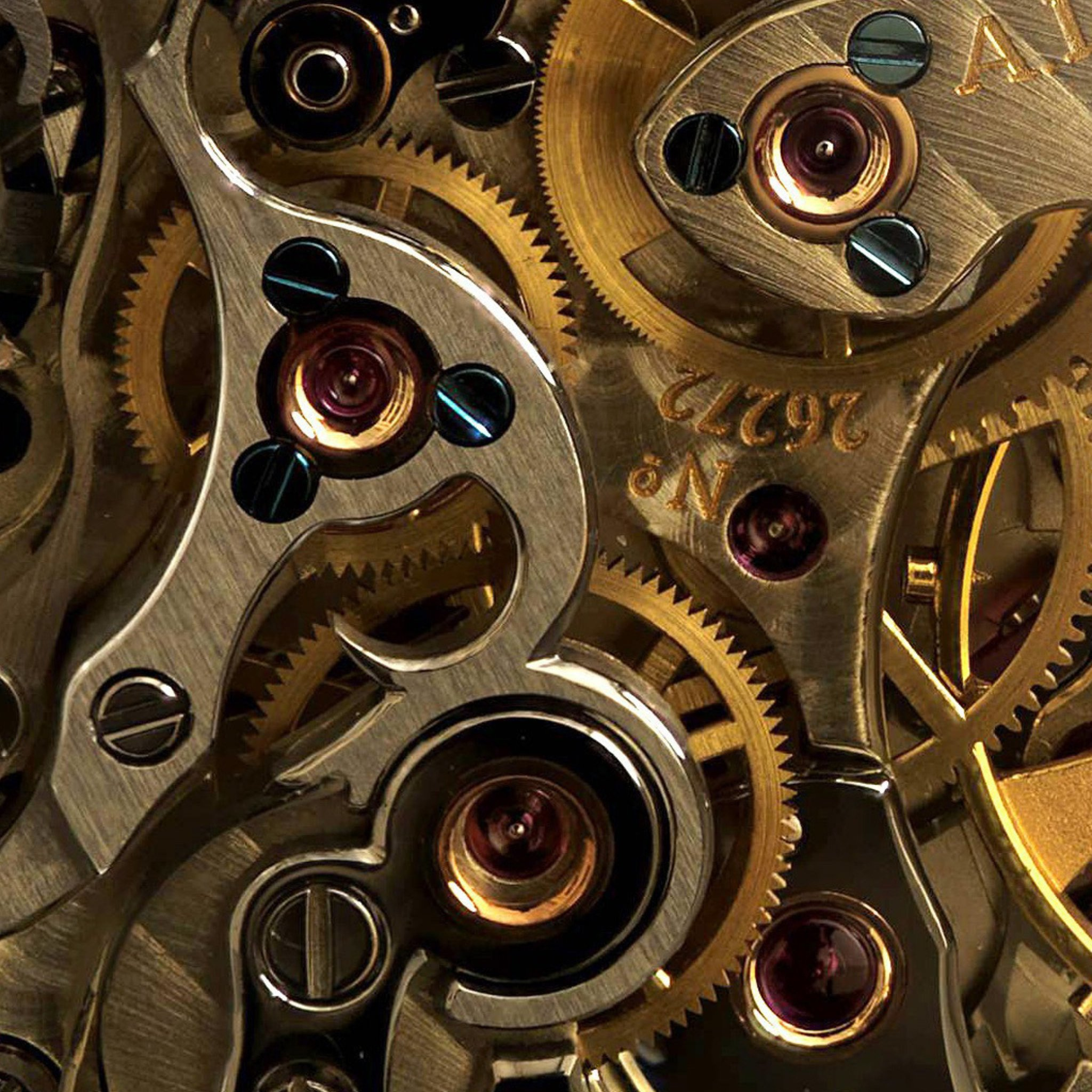 Mechanical Gears Wallpaper Wallpapersafari
