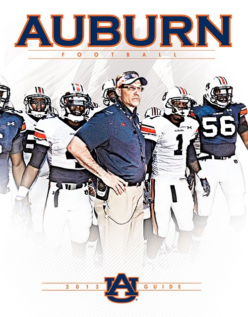 AUBURNTIGERSCOM Sneak Peek Auburns 2013 Football Guide Auburn 500x638