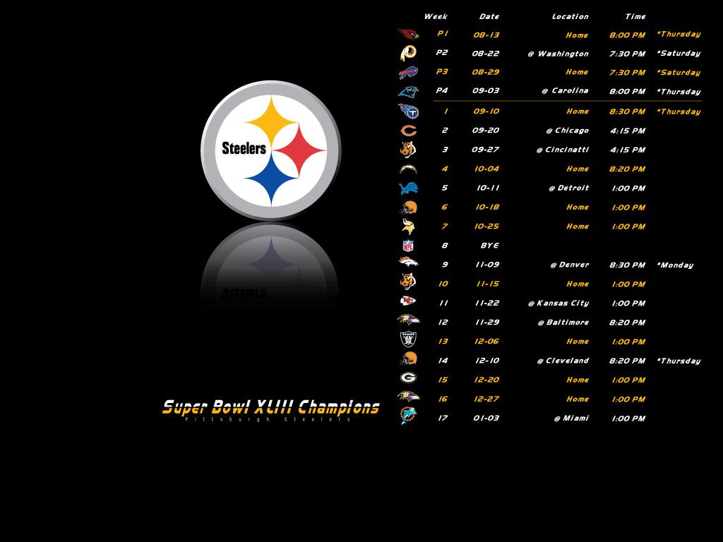 Steelers Wallpaper 2009 Top HD Wallpapers 1024x768