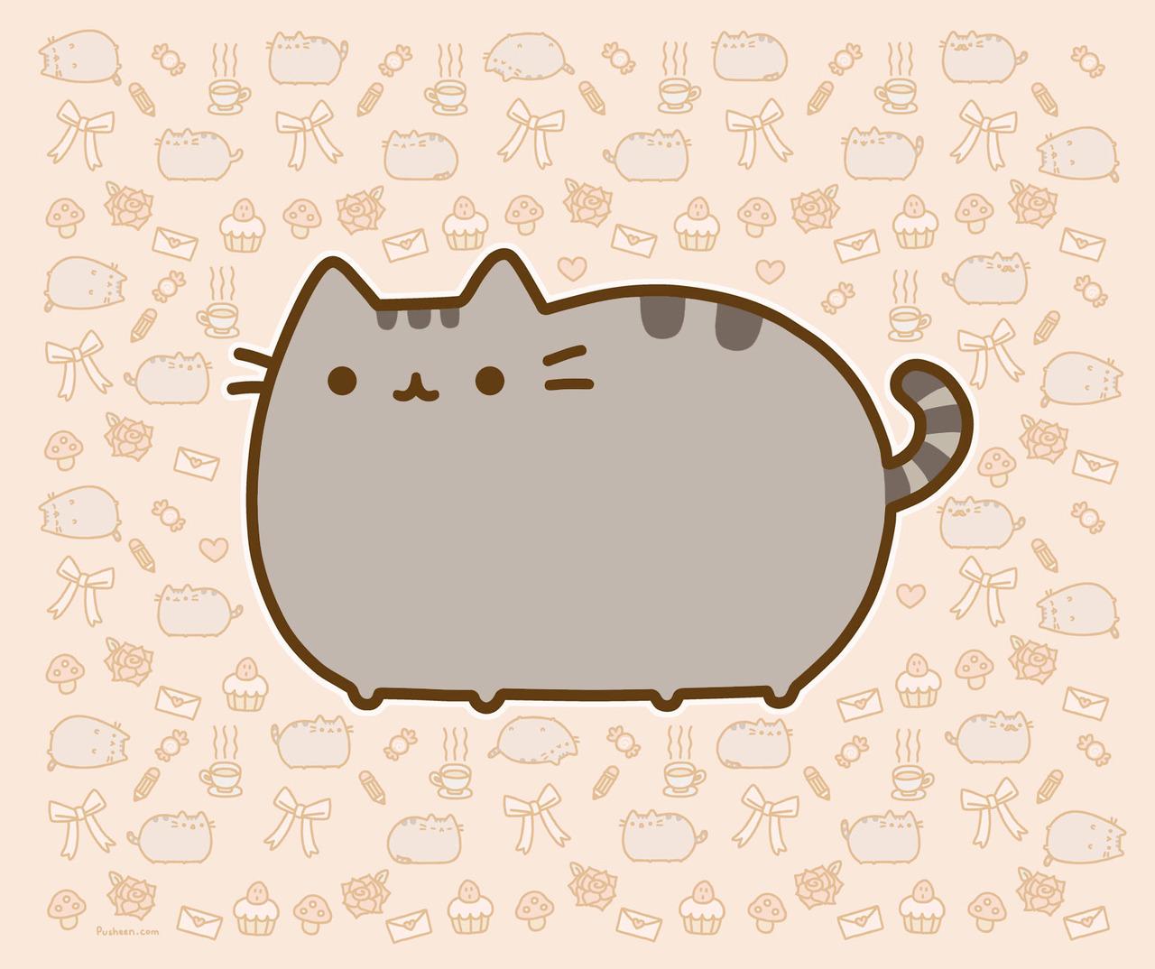 Cat Tells AllLike most members of the feline family Pusheen the Cat 1280x1074