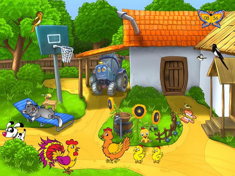 Summer Screensaver   Summer Farm   FullScreensaverscom 800x600