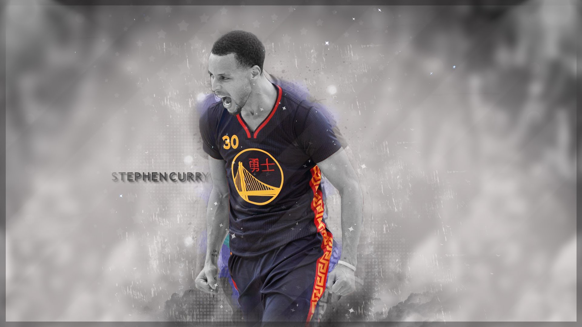 Stephen Curry Wallpaper Speedart 1920x1080