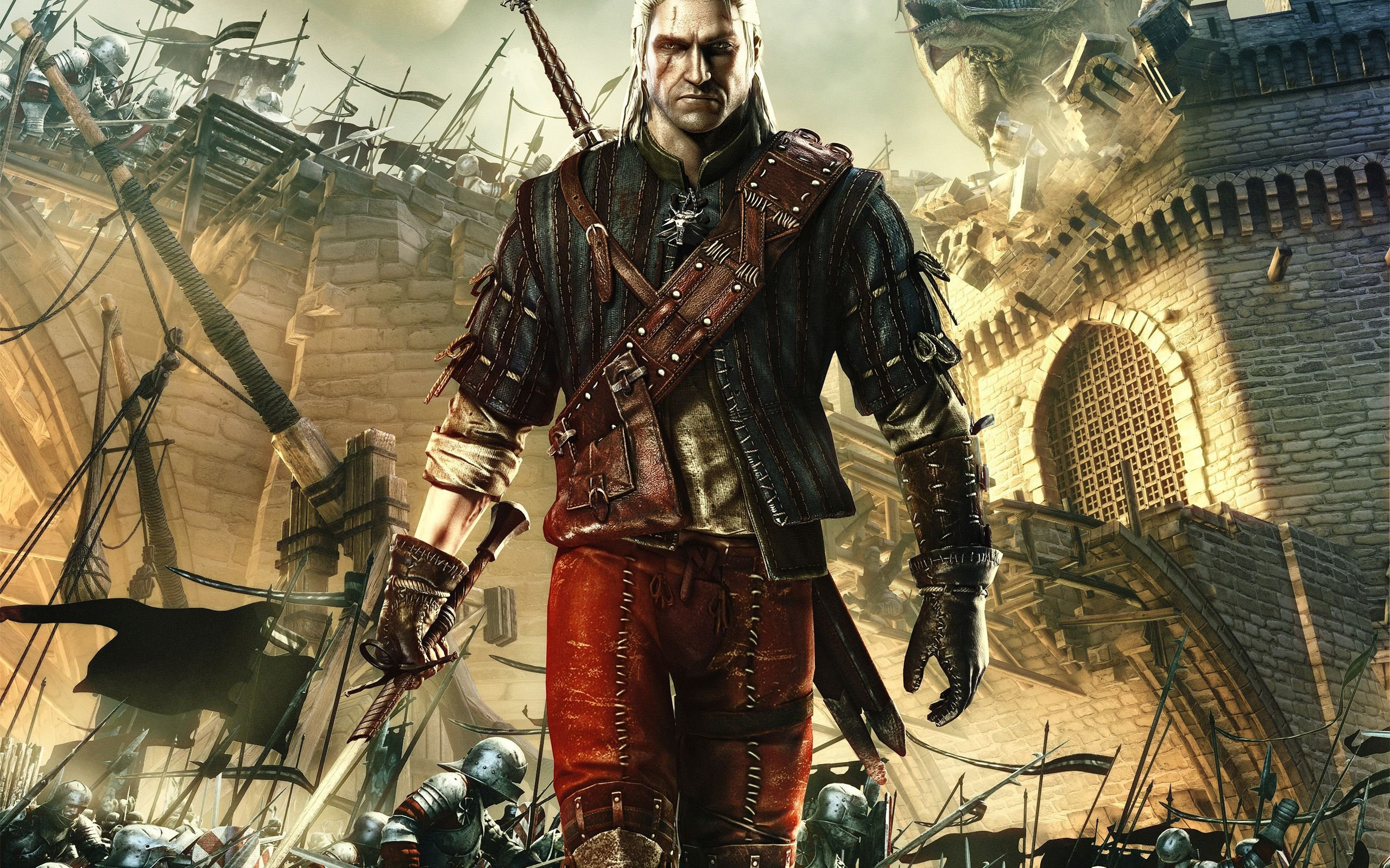 The Witcher 2 Assassins Of Kings HD Wallpapers and Background 2560x1600