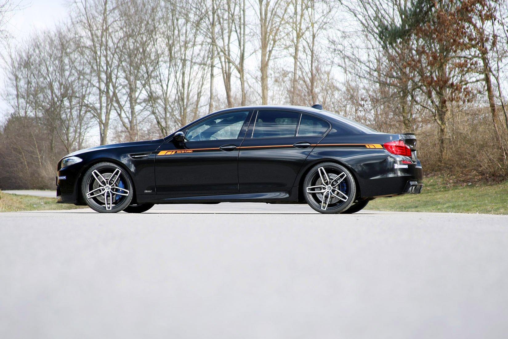 BMW M5 Une BMW M5 quon devine trs puissamment gre Gagn 1650x1100