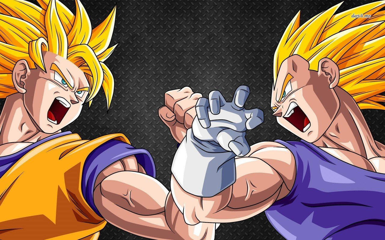 Goku vs Vegeta   Dragon Ball Z wallpaper   Anime wallpapers   20682 1280x800