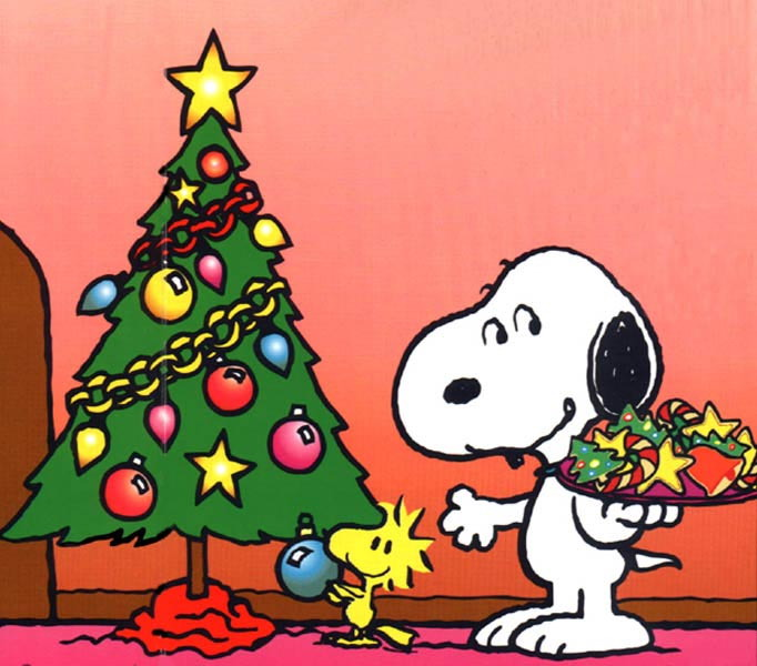 Snoopy Christmas Wallpaper 682x600