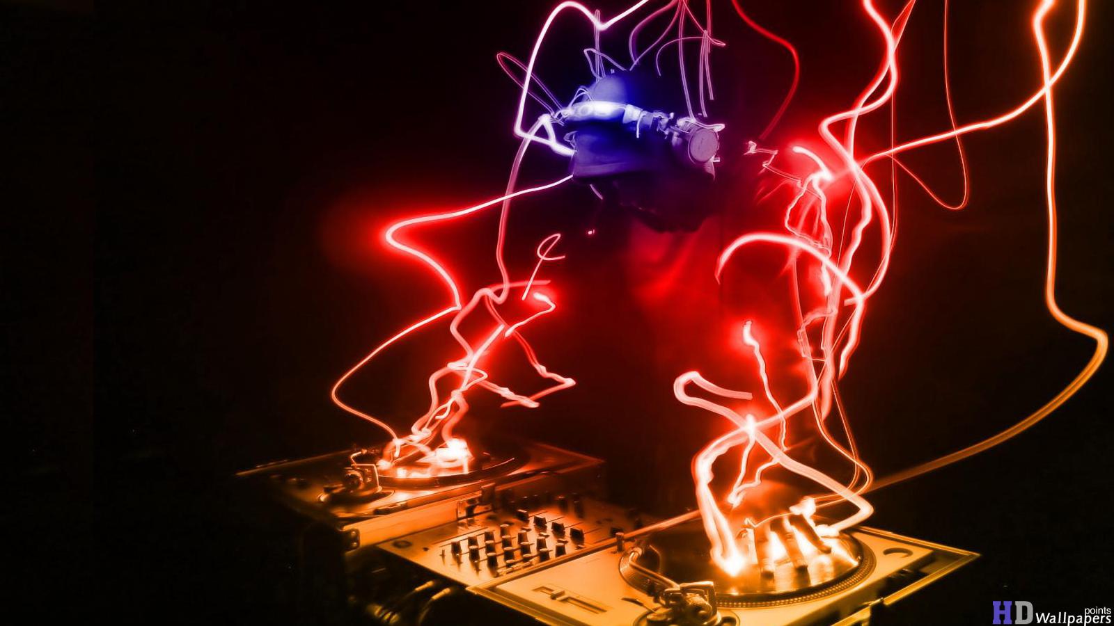 Music DJ 3D Wallpapers HD Wallpaper 1600x900