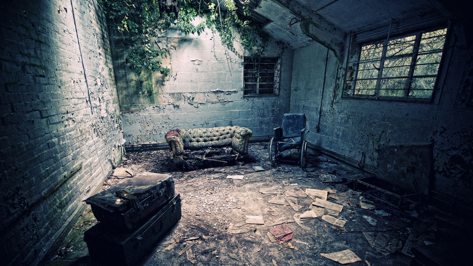 Mysterious Abandoned Places | Wallpaper HD | Beautiful | Wallpaper ...