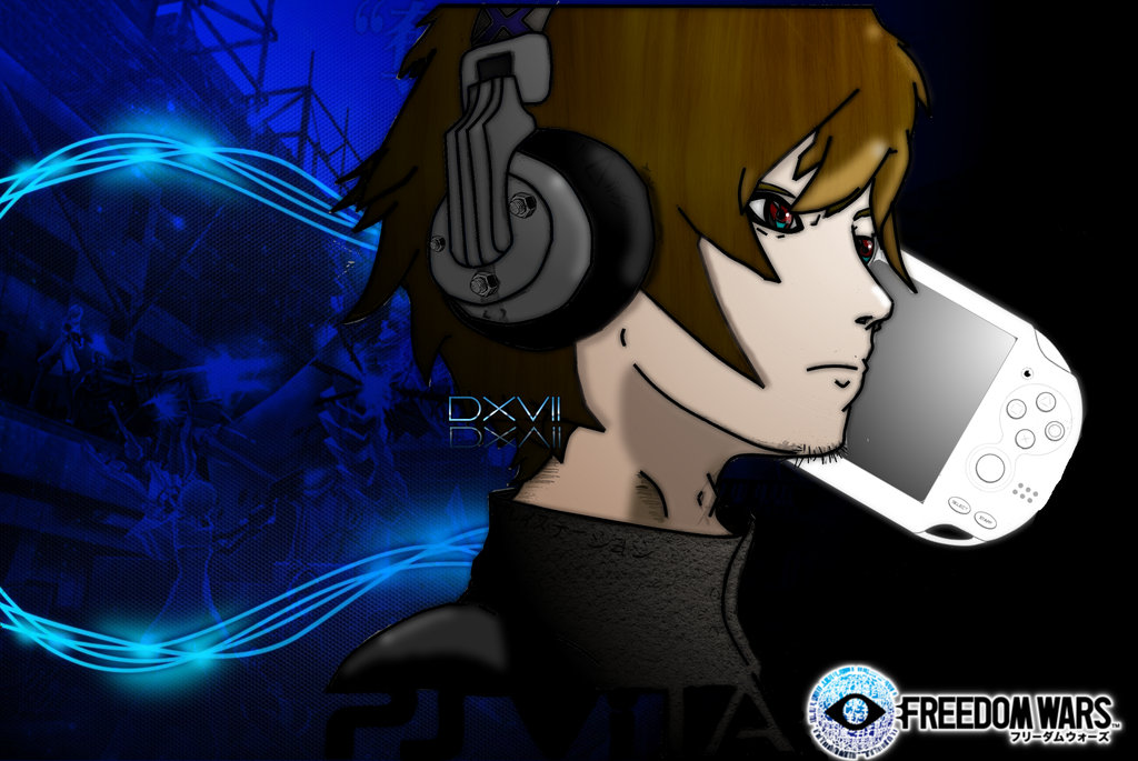Freedom Wars Official Sketched Wallpaper by Dusean17 on deviantART 1024x685