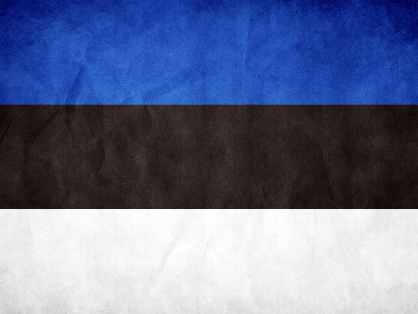 Estonia flag wallpaper 9784 PC en 1400x1050